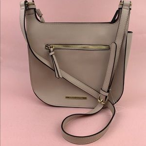 Steve Madden Saddle Faux Leather Crossbody Bag